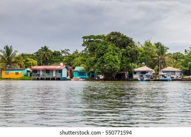 Tortuguero village, Costa Rica