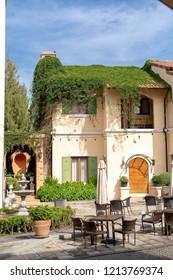 Toscana Villa Landscape