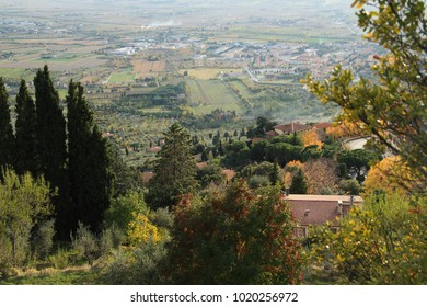 Toscany a view from Cortona