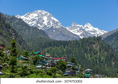 Tosh village in beautiful Parvati valley in Himachal Pradesh state, Northern India