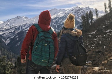 Tosh village is located atabout 2,400 metres(7,900 ft) in elevation on a hill near Kasol in the Parvati Valley, surrounded by mountains. you can also see the couple travel goals in here.