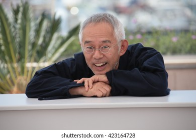 Toshio Suzuki attends 'The Red Turtle' photocall during the 69th Annual Cannes Film Festival on May 18, 2016 in Cannes, France.