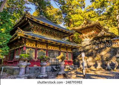 Toshogu Shrine at sunrise, Nikko, Japan. - Shutterstock ID 248795983