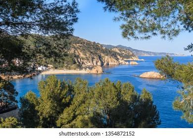 Tossa de Mar beach, Girona, Spain