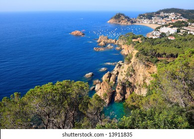Tossa de Mar (Costa Brava, Catalonia, Spain)