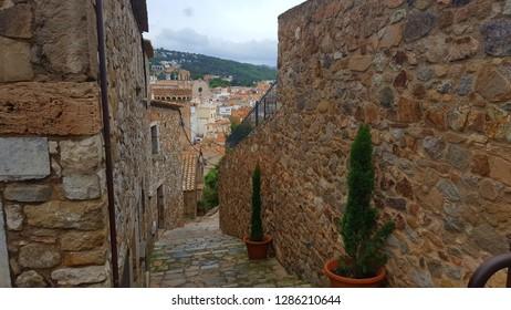 Tossa de Mar town