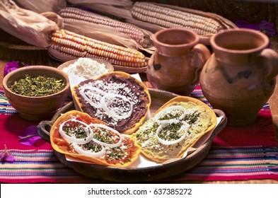 Tostadas, Guatemalan food.