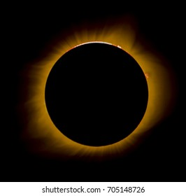 Total solar eclipse from Missouri August 2017