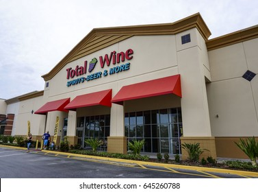 Total Wine in May 2017 in Orlando, Florida. Total Wine & More is an American alcohol retailer.