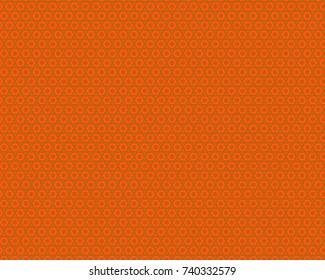Totally unique, bright geometric pattern.