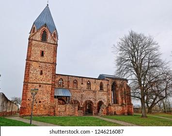 Totenkirche ruin in Treysa near Schwalmstadt