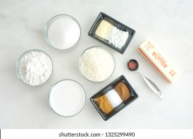 Toto (Spiced Coconut Cake) Ingredients