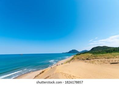 tottori prefecture beautiful tottori Dune