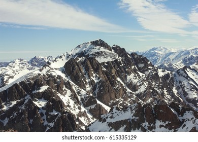 Toubkal, highest mountain in north Africa