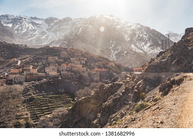 Toubkal National Park in Morocco