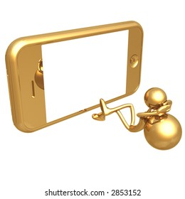 Touch Screen Cell Phone Portable Movies