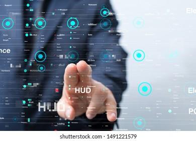 Touch screen technology. Future modern touch screen technology