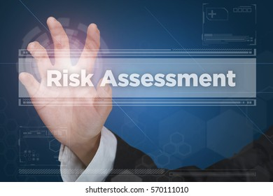 Touch screen of virtual reality interface: Risk Assessment
