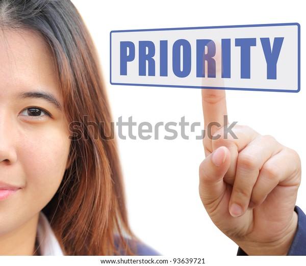 Touching priority