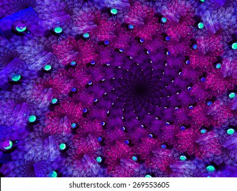 Touching violet-lilac geometric abstract background.