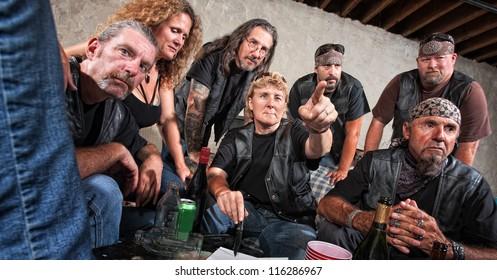 Gang Member Images, Stock Photos & Vectors | Shutterstock
