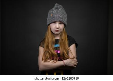 Tough Redhead Girl