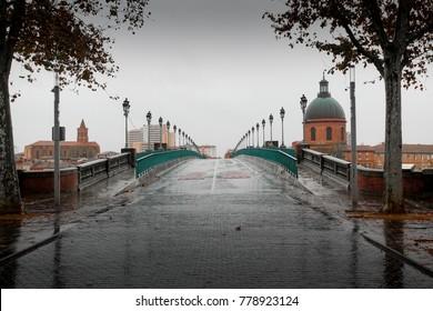 Toulouse city view