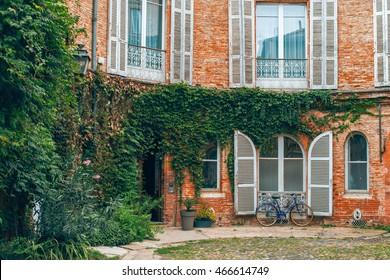 Toulouse, France - November 02 2015: View on buildings in Toulouse, France