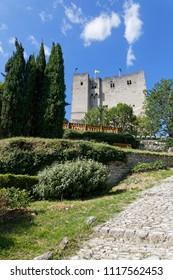 Tour de Crest (Crest Tower) is the imposing vestige of an old castle