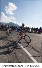Tour de France 2018 cycling stage 11 La Rosiere Rhone Alpes Savoie France