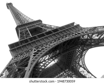 Tour Eiffel in Black and White - Paris, France