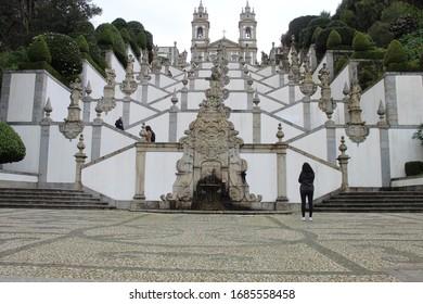 Besichtigung des Heiligtums von Bom Jesus do Monte in Portugal