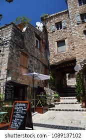 Tourettes-Sur-Loup, France June 19, 2016.  Scenes from the beautiful village of Tourrettes-Sur-Loup in Provence