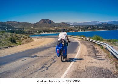 Touring Bike at Patagonia Argentina.