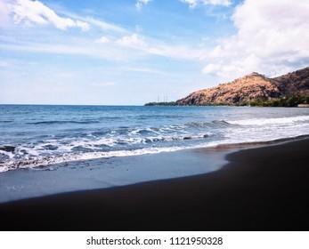 Tourism Destination Pemuteran Beach Scenery North Bali