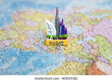 Dubai Map Images, Stock Photos & Vectors   Shutterstock