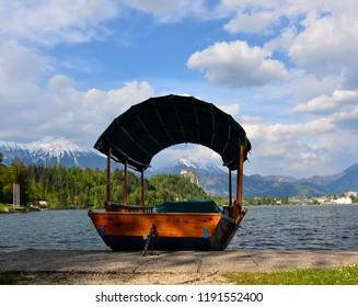 The Tourist boat - Bled, Slovenia