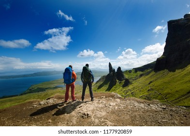og The Cairngorm Mountains old rail ad. fridge magnet