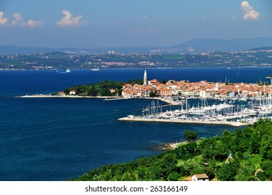 Tourist resort Izola on Adriatic sea coast, Slovenia