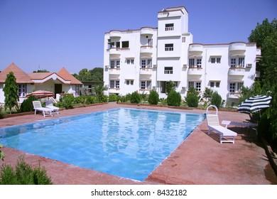 tourist resort in pushkar, rajasthan