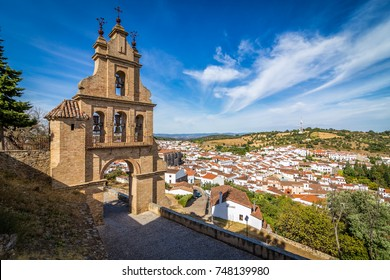Tourist town of Aracena. Province of Huelva. Spain