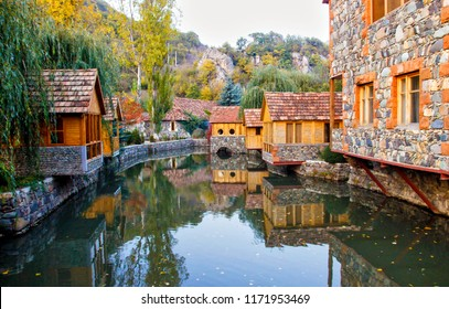 tourist town of Dilijan, Armenia. Little Switzerland of Armenia''.