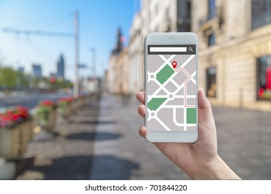 Navigation App Images, Stock Photos & Vectors | Shutterstock