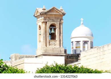 tourist view of cityscape of Malta island, sunny day HDR image
