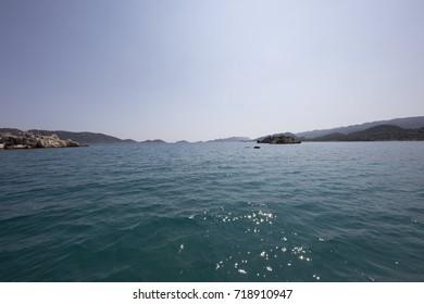 Touristic sea and coastal tour