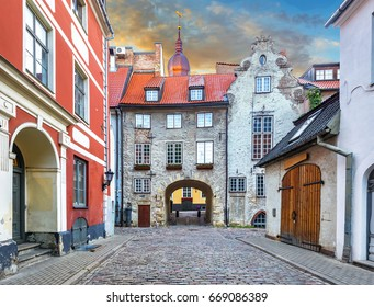 For tourists, medieval architecture of old Riga town can offer unforgettable atmosphere of the Middle Ages and unique Gothic architecture