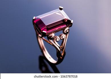 Tourmaline Ring gold
