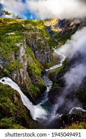 Vøringsfossen toursit attraction, Eidfjord municipality, Norway