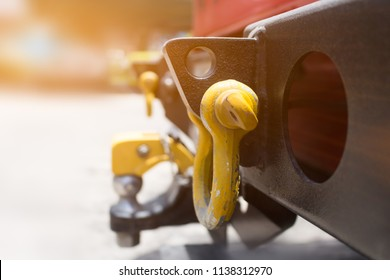Towbar, on truck Towing vehicles