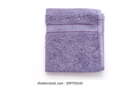 Towel isolated on white